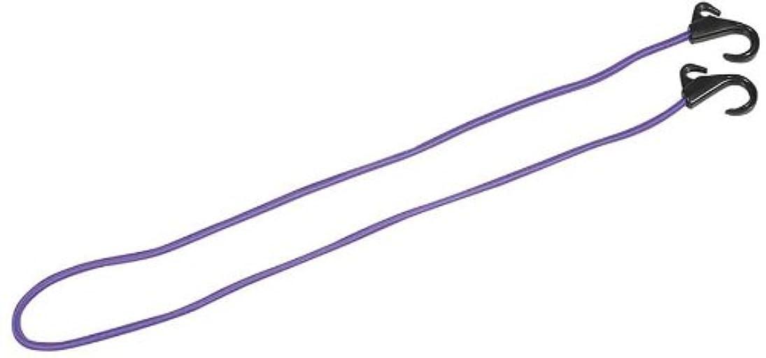 長老ストレスバーマドキャプテンスタッグ(CAPTAIN STAG) アウトドア用品 キャリー用フック付コード 120cm パープルM-1706