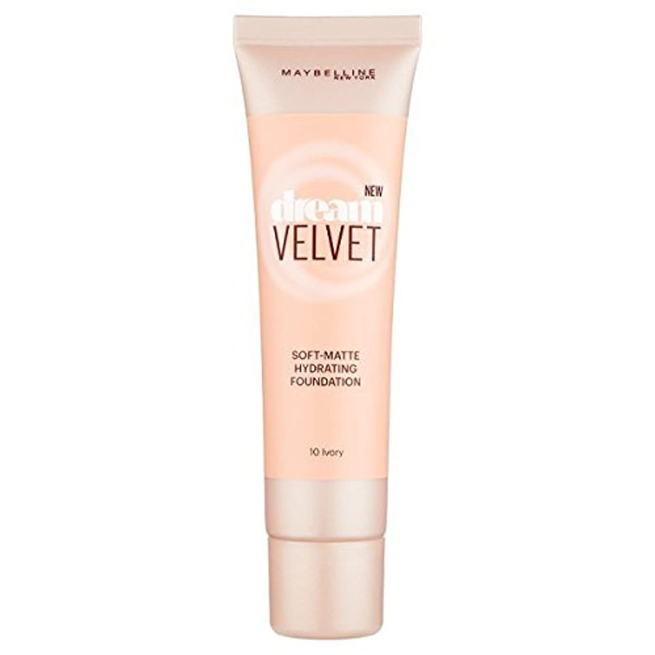 考古学的な最悪対話Maybelline Dream Velvet Matte Foundation 10 Ivory 30ml