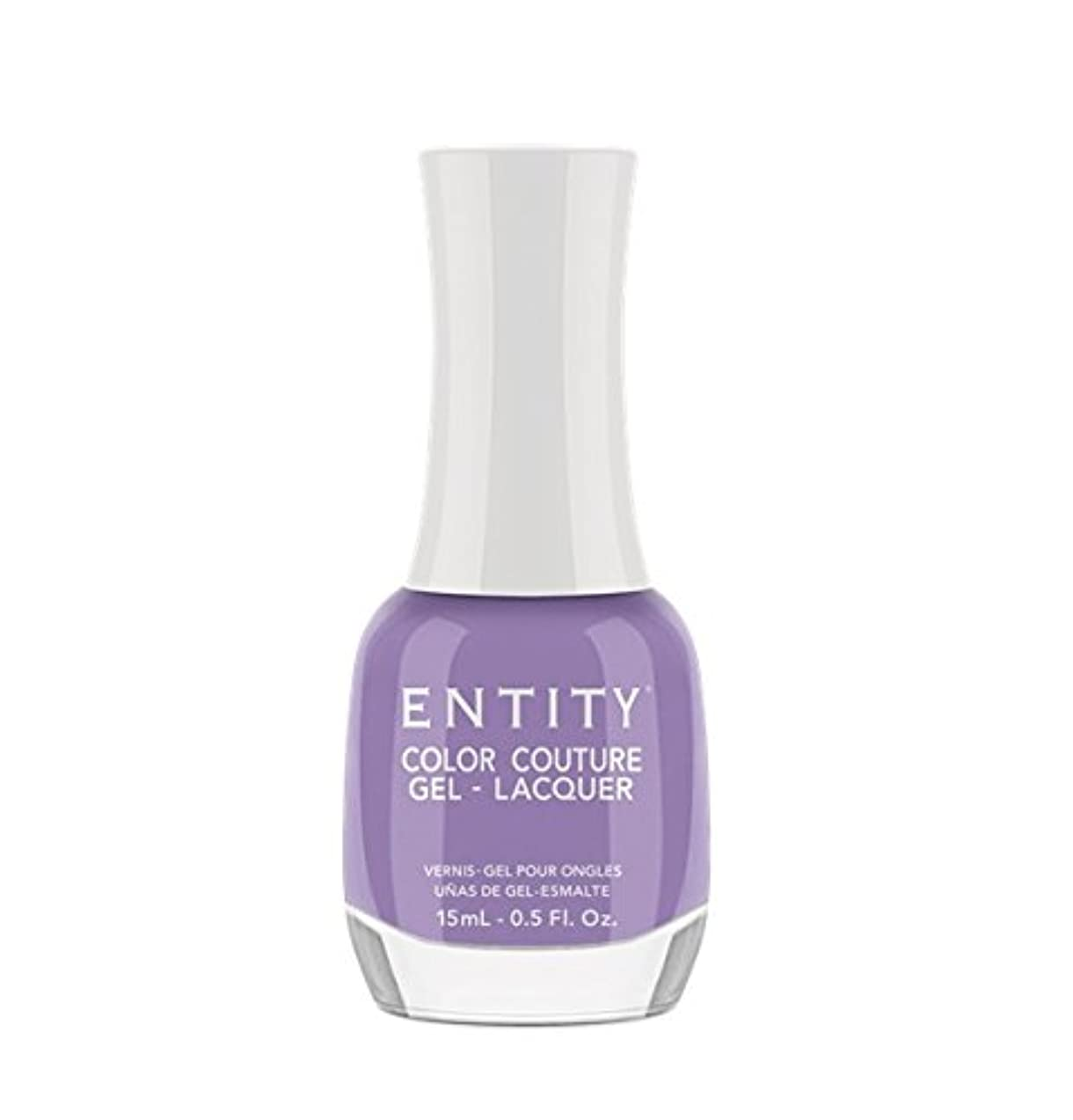 お風呂ひも疑いEntity Color Couture Gel-Lacquer - Pretty Not Prissy - 15 ml/0.5 oz