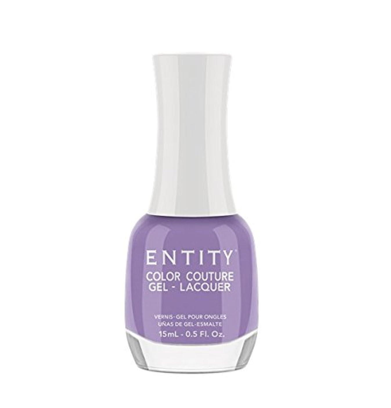オーディション戦士ポットEntity Color Couture Gel-Lacquer - Pretty Not Prissy - 15 ml/0.5 oz