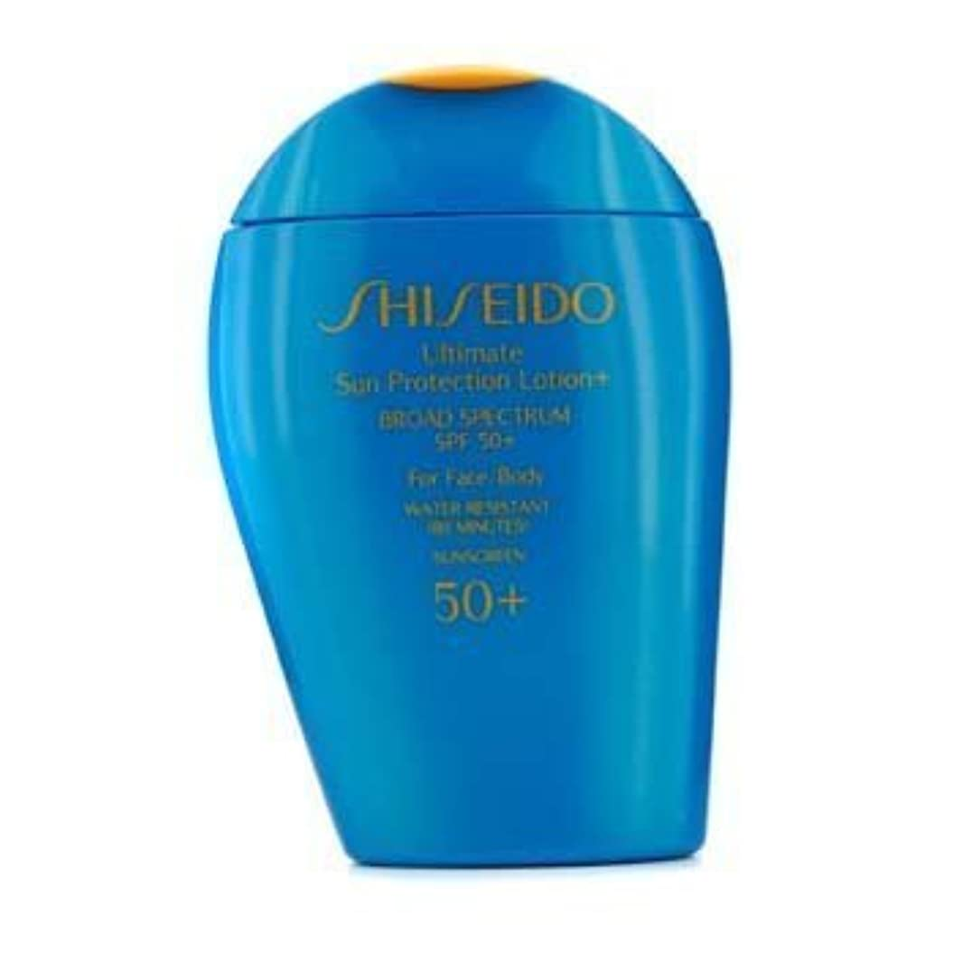 クローン架空の貫入Shiseido Ultimate Sun Protection Face & Body Lotion SPF 50+ - 100ml/3.3oz by Shiseido [並行輸入品]