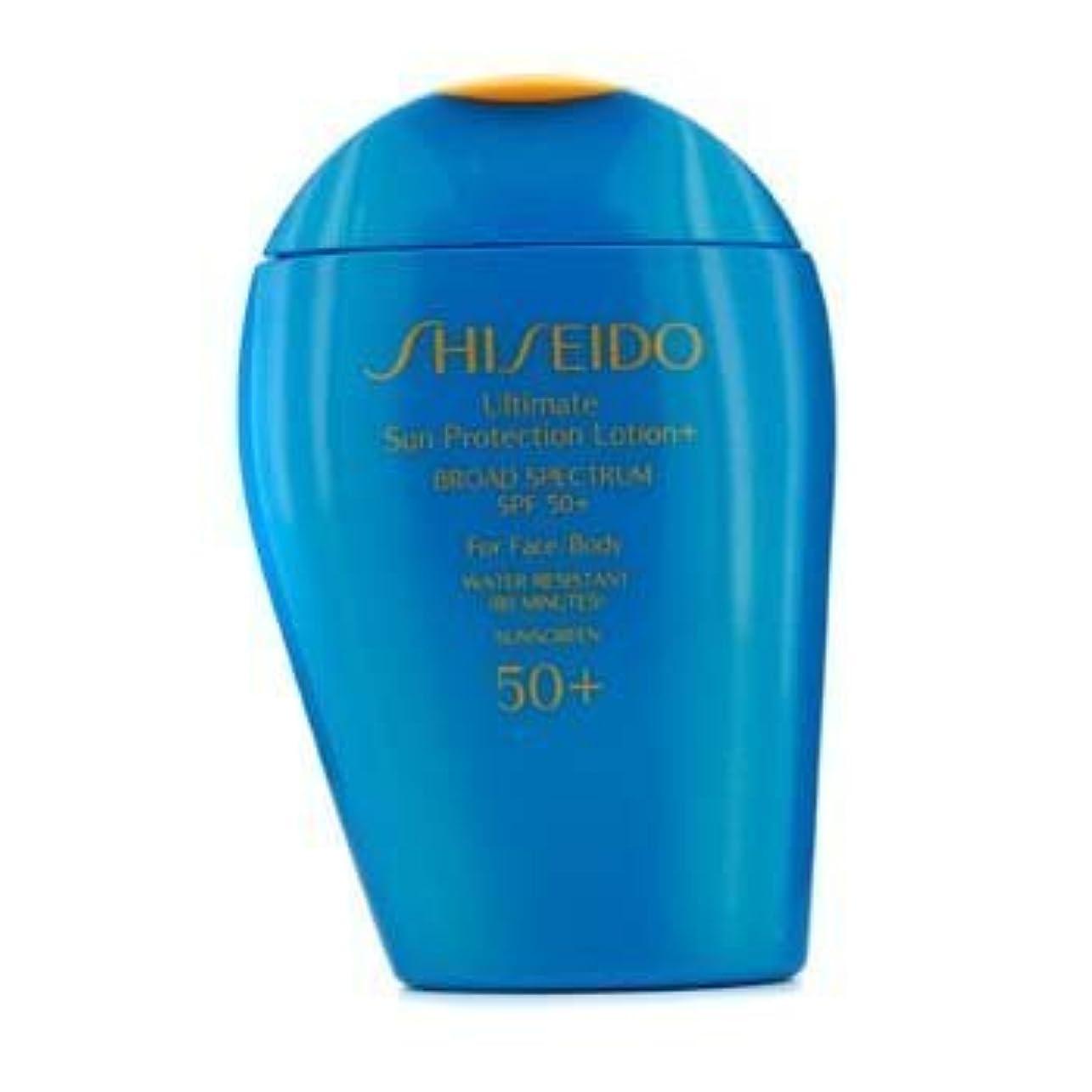 追い払う誕生日鉛Shiseido Ultimate Sun Protection Face & Body Lotion SPF 50+ - 100ml/3.3oz by Shiseido [並行輸入品]