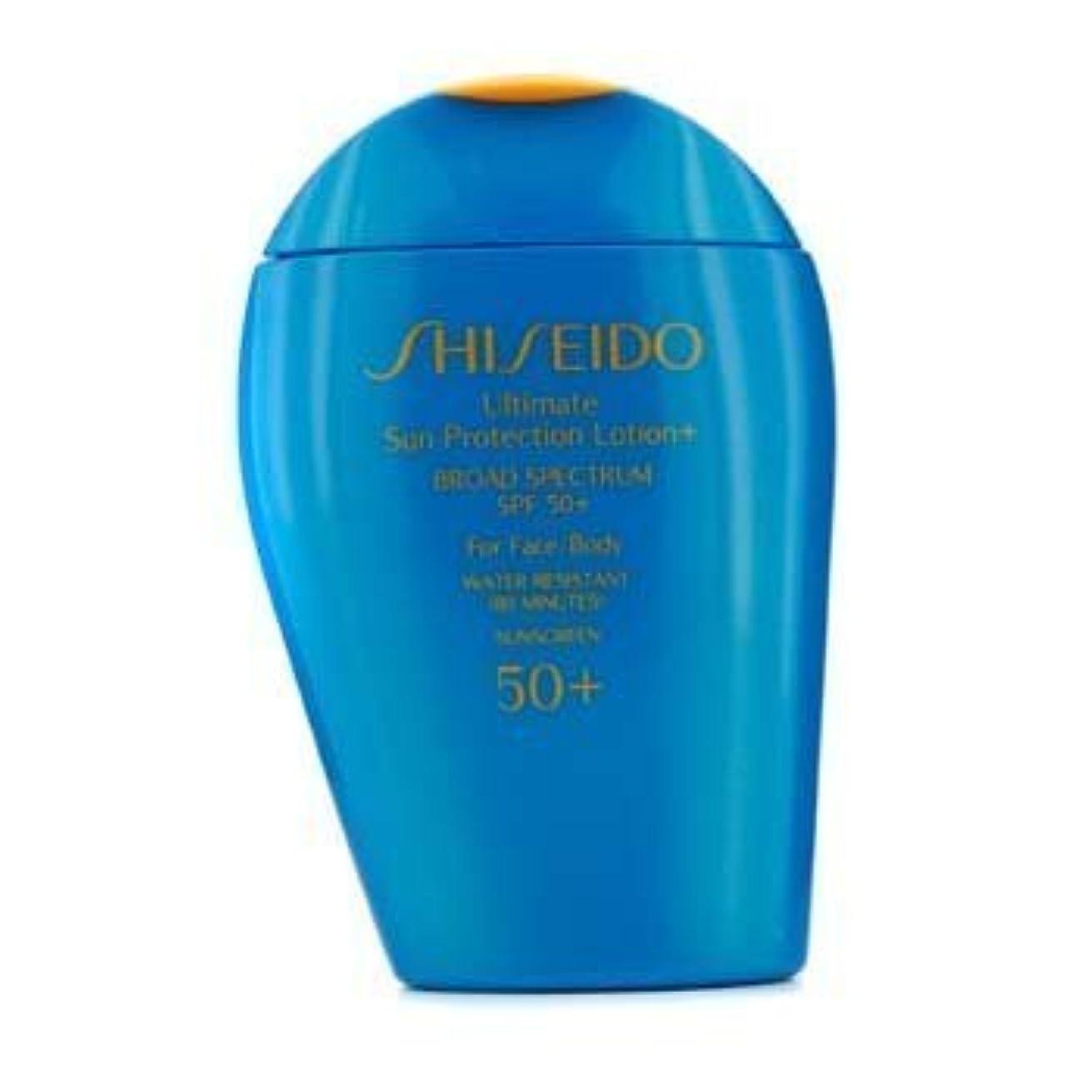 ラショナル許される雄弁Shiseido Ultimate Sun Protection Face & Body Lotion SPF 50+ - 100ml/3.3oz by Shiseido [並行輸入品]