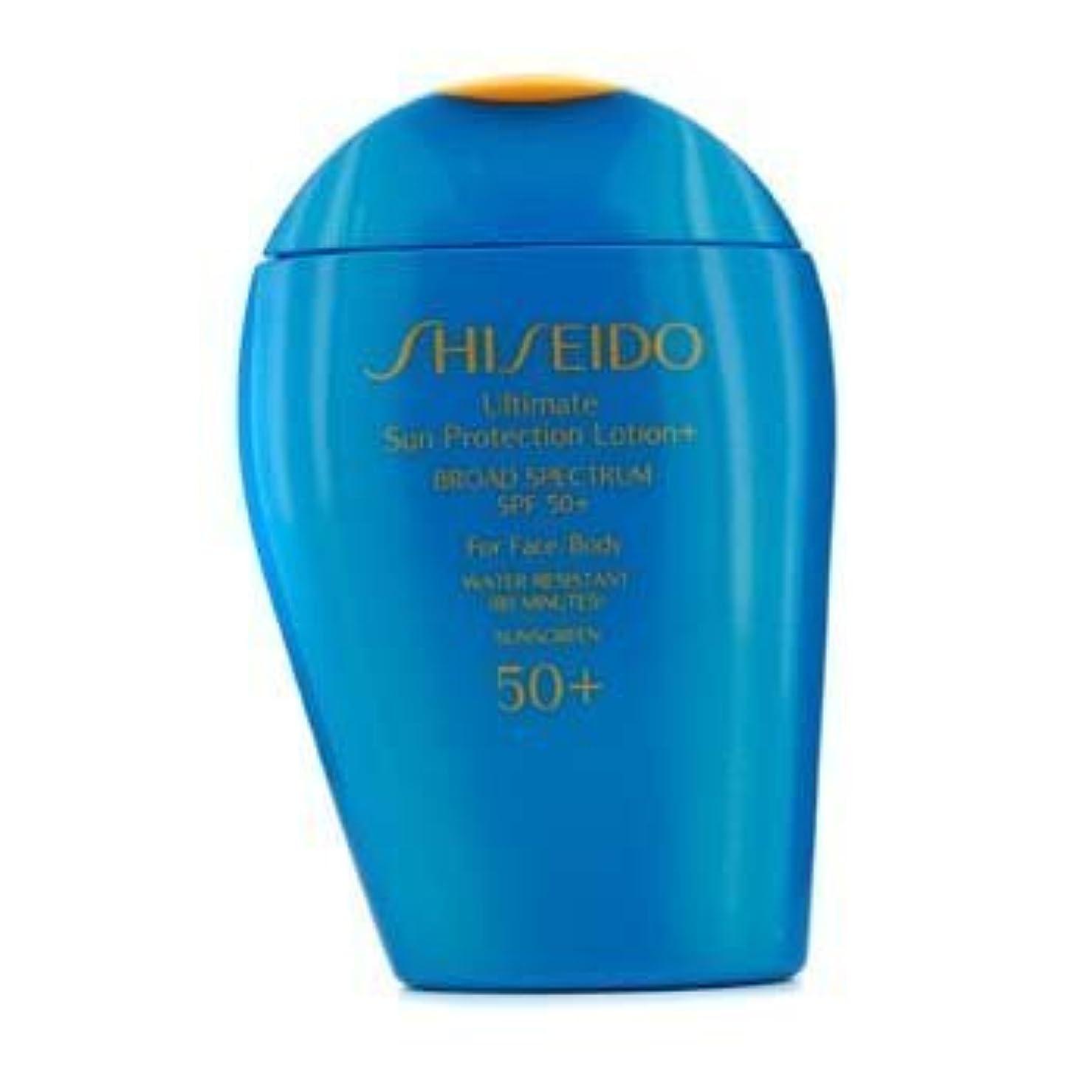 貫入夜明けパトロンShiseido Ultimate Sun Protection Face & Body Lotion SPF 50+ - 100ml/3.3oz by Shiseido [並行輸入品]