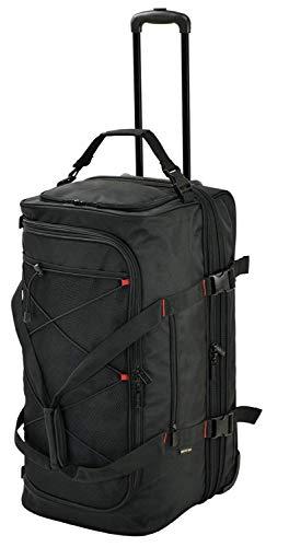 ボストンバッグ+キャリーバッグ「2ルーム ボストンキャリーバッグ 大容量100L」修学旅行かばん GERMANE GEAR#15177