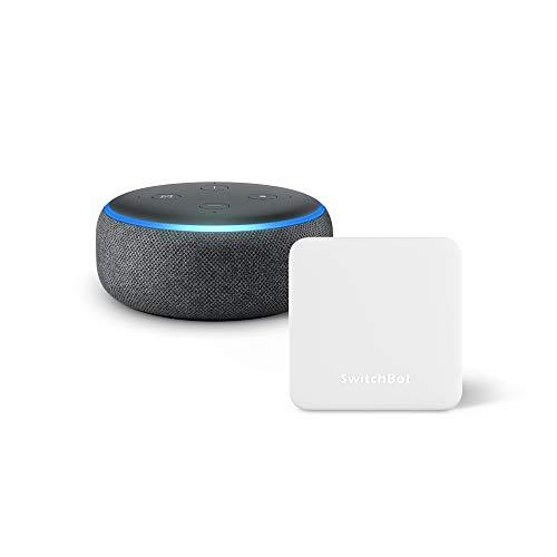 Echo Dot+スイッチボットのスマートリモコンHub Miniがセットで3,000円オフの6,960円