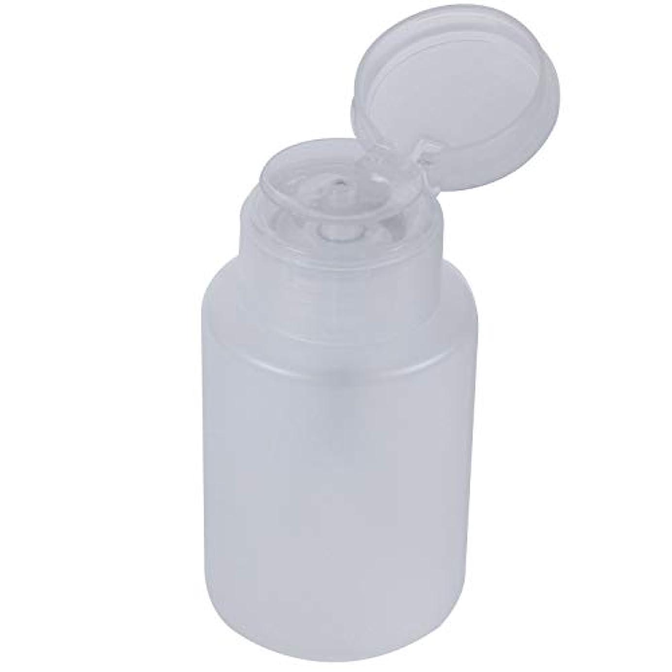 正統派虫咽頭Vaorwne リフィルマニキュアリムーバーボトルコンテナネイルエンプティポンプディスペンサー120ml
