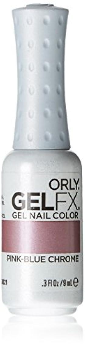 未満医療過誤杭Orly GelFX Gel Polish - Pink-Blue Chrome - 0.3oz/9ml