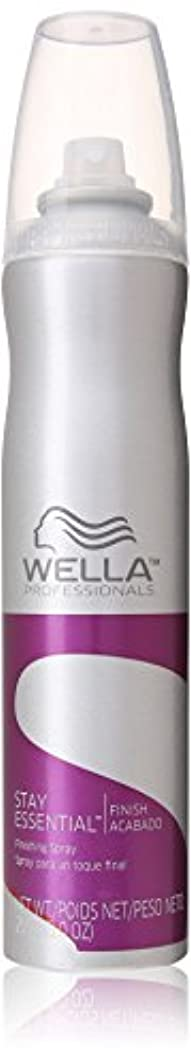 びんシーサイド消毒剤Wella ユニセックスのために不可欠仕上げスプレー滞在、9オンス 9.0オンス