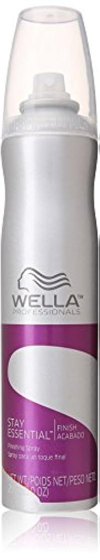 課す安定したの間でWella ユニセックスのために不可欠仕上げスプレー滞在、9オンス 9.0オンス