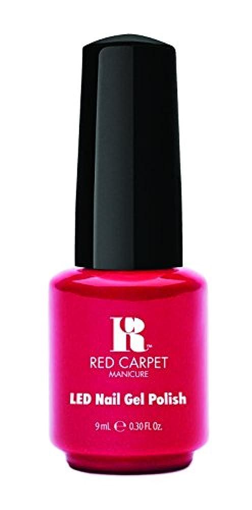 北方情熱じゃがいもRed Carpet Manicure - LED Nail Gel Polish - My Big Break - 0.3oz/9ml