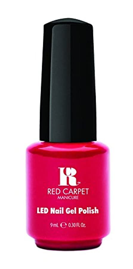 うがい最も遠い仕えるRed Carpet Manicure - LED Nail Gel Polish - My Big Break - 0.3oz/9ml