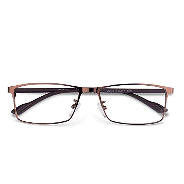スケッチ金属一般的に言えばアンチブルー老眼鏡、抗放射線超軽量の男性と女性の高精細老眼鏡、抗疲労と快適な老眼鏡、両親の最高の贈り物ZDDAB