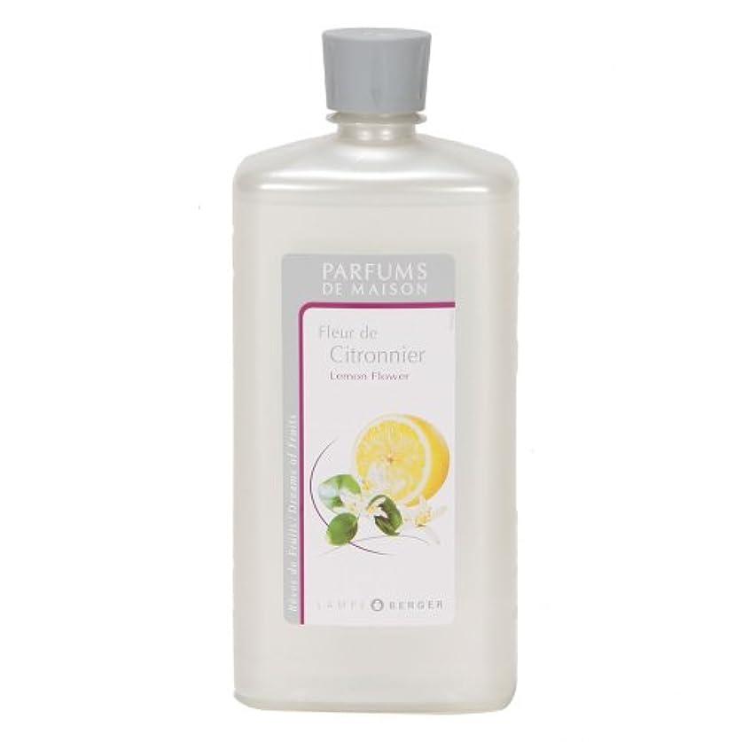 白雪姫くしゃくしゃスリーブLAMPE BERGER ランプベルジェ オイル フランス版 レモンフラワー 1000ml アロマオイル 並行輸入品