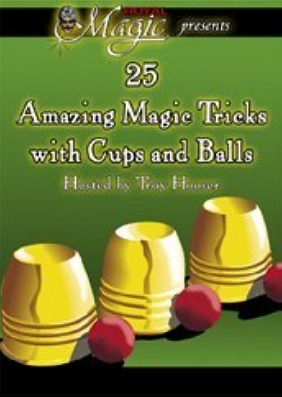25 Amazing Magic Tricks with Cups & Balls DVD by Royal Magic [並行輸入品]