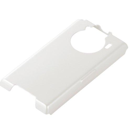 iBUFFALO docomo REGZA Phone T-01C ハードケース液晶保護フィルム付 パールホワイト BSMPT01C02PW