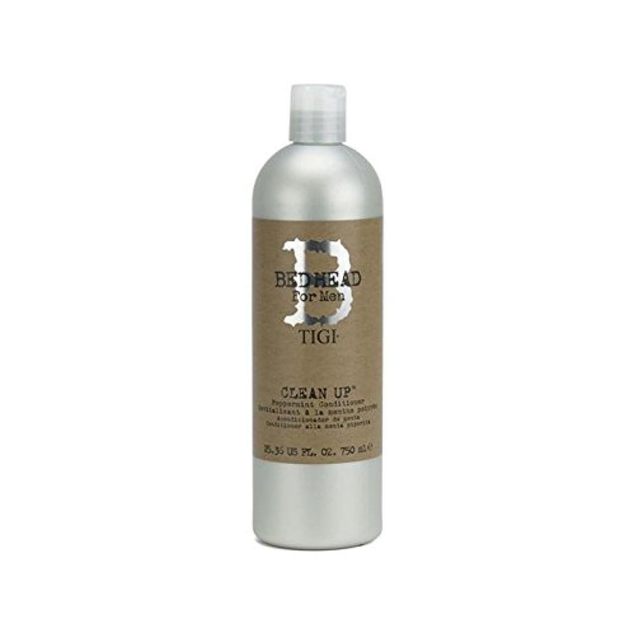 ふける先のことを考えるレキシコンTigi Bed Head For Men Clean Up Peppermint Conditioner (750ml) - ペパーミントコンディショナーをクリーンアップする男性のためのティジーベッドヘッド(750ミリリットル...