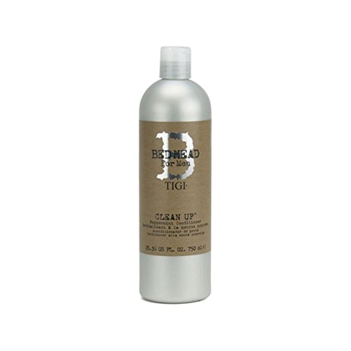畝間正義タワーTigi Bed Head For Men Clean Up Peppermint Conditioner (750ml) (Pack of 6) - ペパーミントコンディショナーをクリーンアップする男性のためのティジーベッドヘッド...