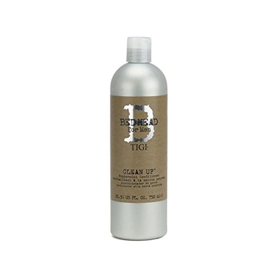 ストリームファイナンス喜劇Tigi Bed Head For Men Clean Up Peppermint Conditioner (750ml) - ペパーミントコンディショナーをクリーンアップする男性のためのティジーベッドヘッド(750ミリリットル...