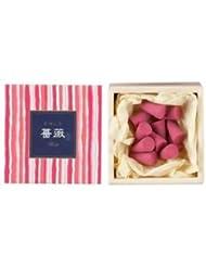 【日本香堂】 かゆらぎ お香 コーン型 白桃