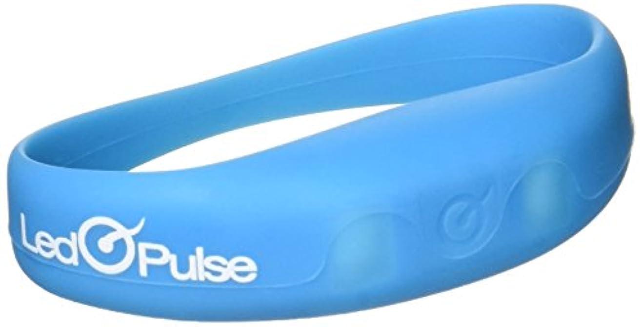 練習したお客様おLed Q Pulse ブレスレット(BL)