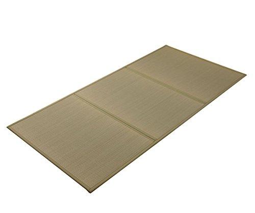 日本製 畳 マットレス シングル「夢見畳(とじりあり)」(#8311809) シングルサイズ:100×210cm