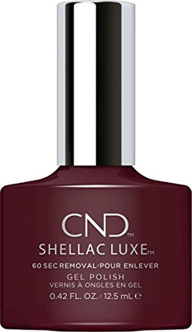 悪意のある必要条件繁栄するCND Shellac Luxe - Black Cherry - 12.5 ml / 0.42 oz