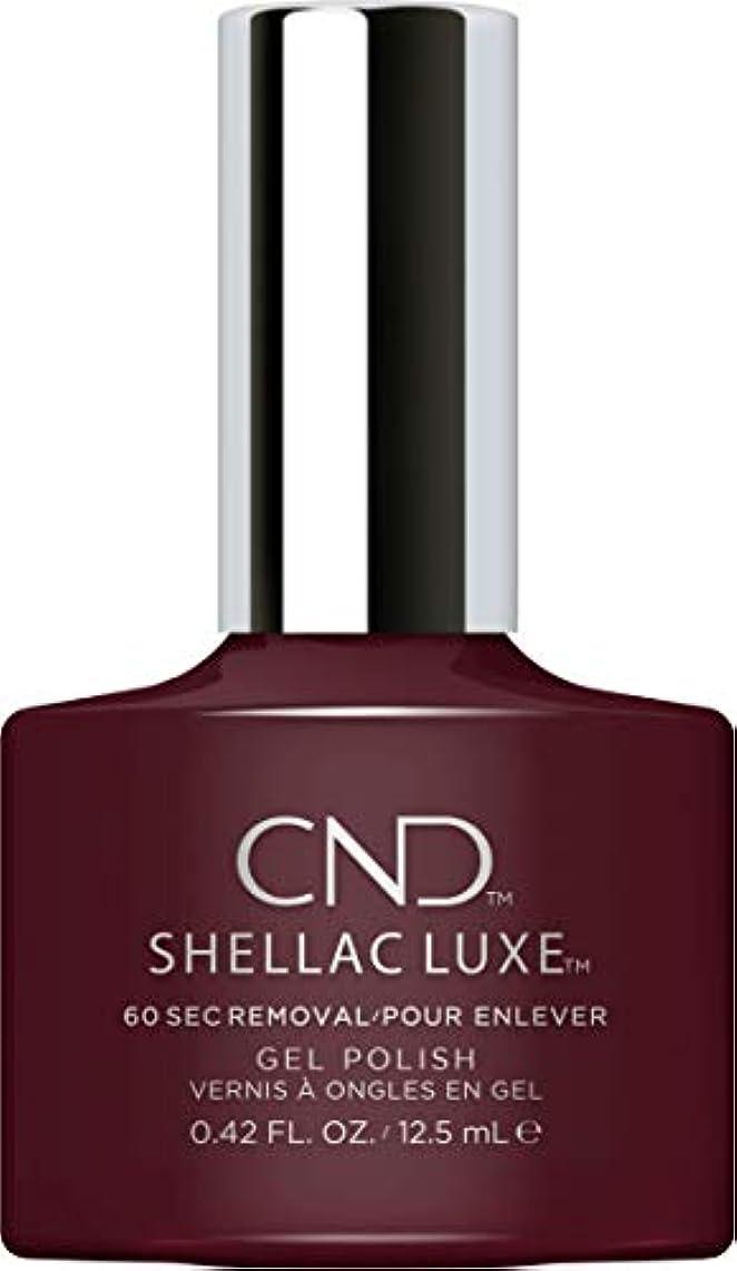 シンボル保全万歳CND Shellac Luxe - Black Cherry - 12.5 ml / 0.42 oz