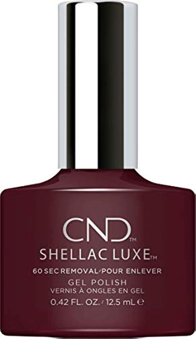 モジュールうぬぼれ価値CND Shellac Luxe - Black Cherry - 12.5 ml / 0.42 oz