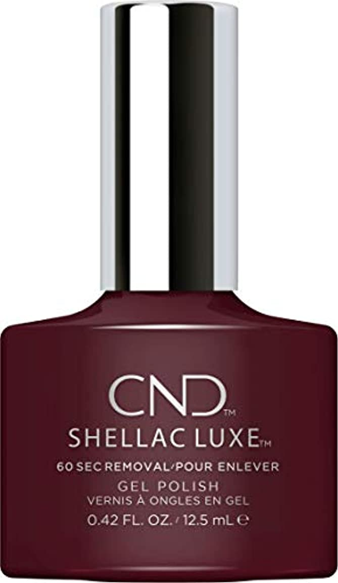 変装つぶやき飛行機CND Shellac Luxe - Black Cherry - 12.5 ml / 0.42 oz
