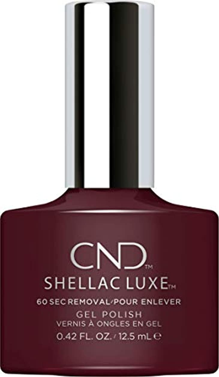 便利さ本物の謎CND Shellac Luxe - Black Cherry - 12.5 ml / 0.42 oz