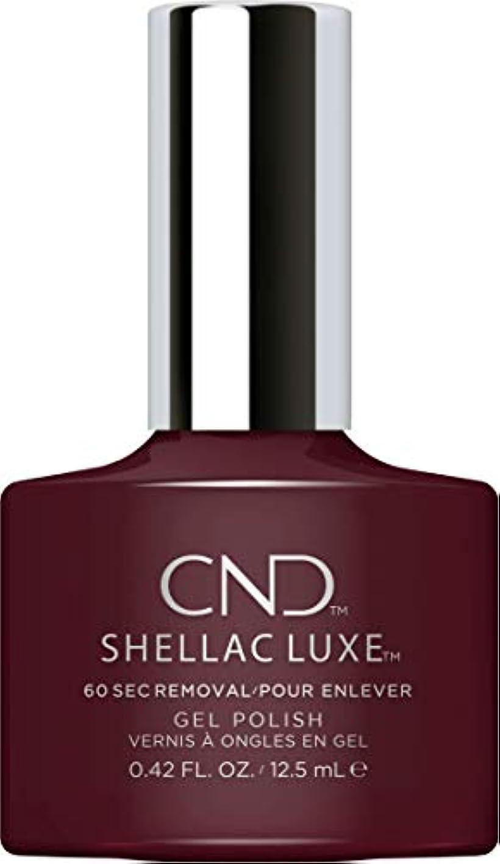 自転車スケッチシャッフルCND Shellac Luxe - Black Cherry - 12.5 ml / 0.42 oz
