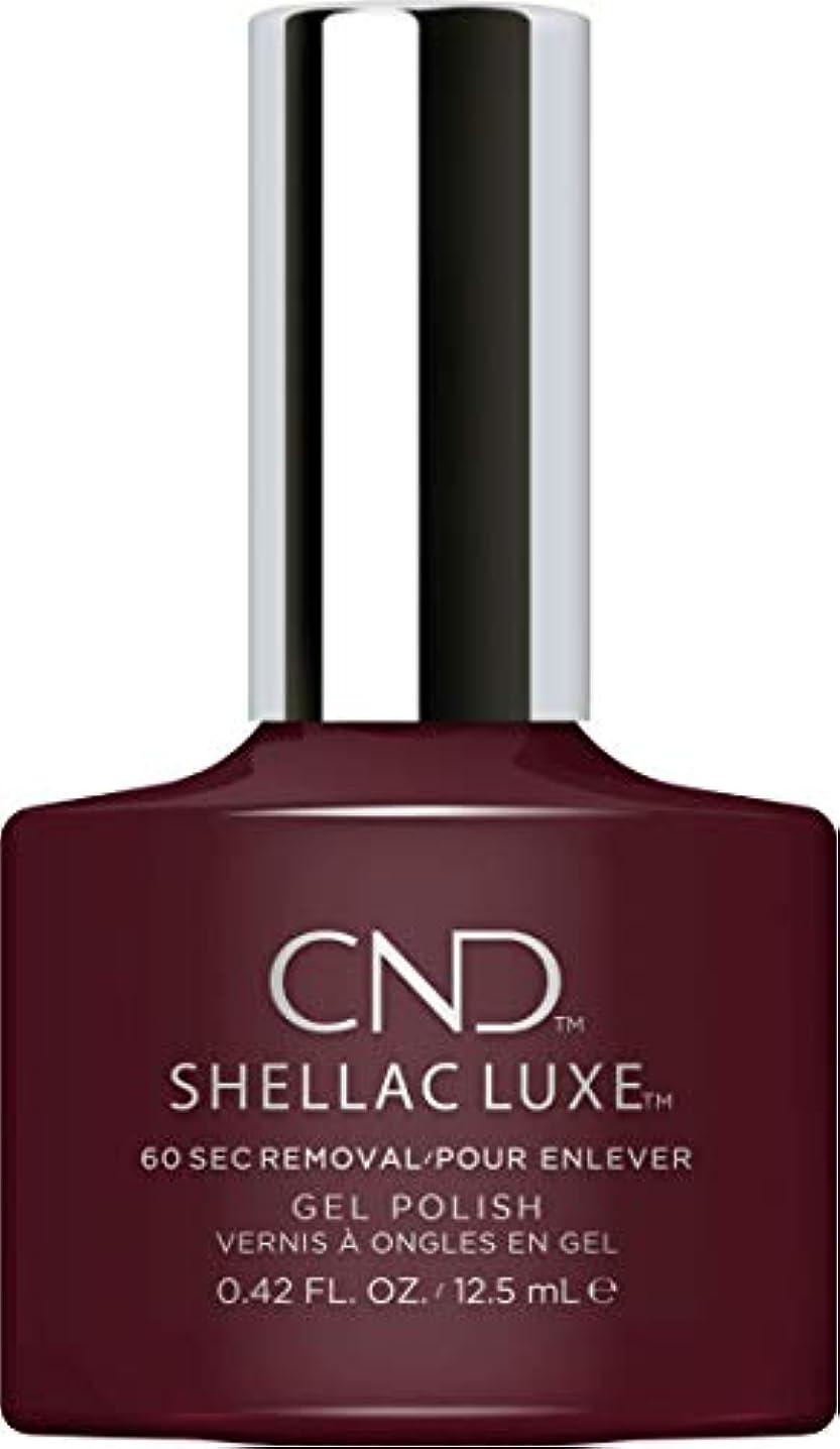 回転する探偵制限されたCND Shellac Luxe - Black Cherry - 12.5 ml / 0.42 oz