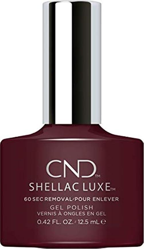 羽歌手乱闘CND Shellac Luxe - Black Cherry - 12.5 ml / 0.42 oz