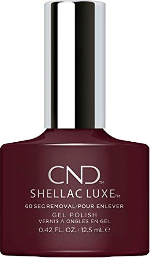 忘れられない誇大妄想バーマドCND Shellac Luxe - Black Cherry - 12.5 ml / 0.42 oz
