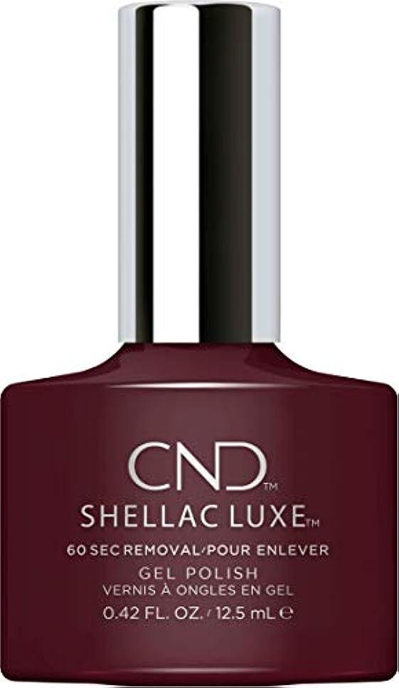 冗談で寛大さ他の日CND Shellac Luxe - Black Cherry - 12.5 ml / 0.42 oz