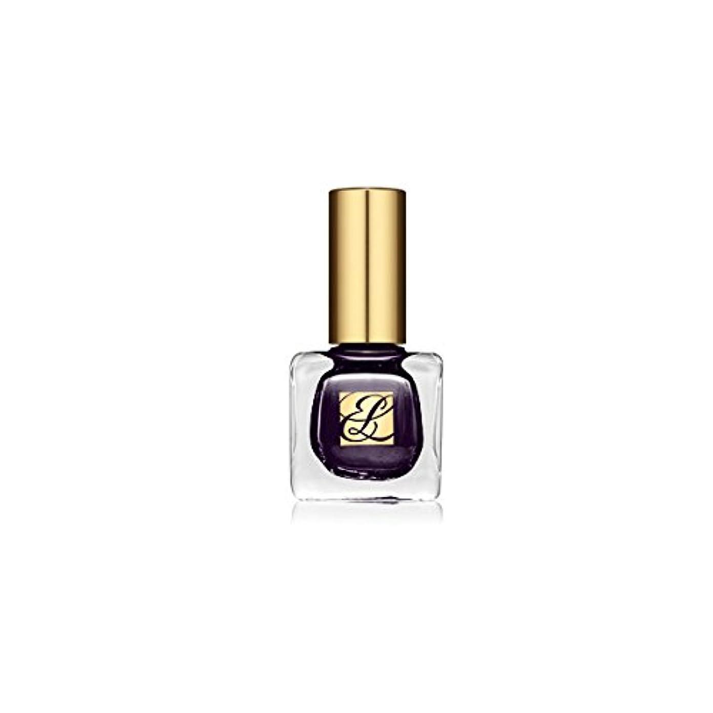 指紋自然公園更新Estee Lauder Pure Color Nail Lacquer Black Plum [並行輸入品]
