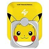 ピカチュウ【正規品】ポケモン Pokemon i-Cutie RING iPhone5/5S/5C/6/6S/SE Android スマホ タブレット用 スマホリング 落下防止 スマホスタンド Pokémon GO ポケモン GOにも (ピカチュウ)
