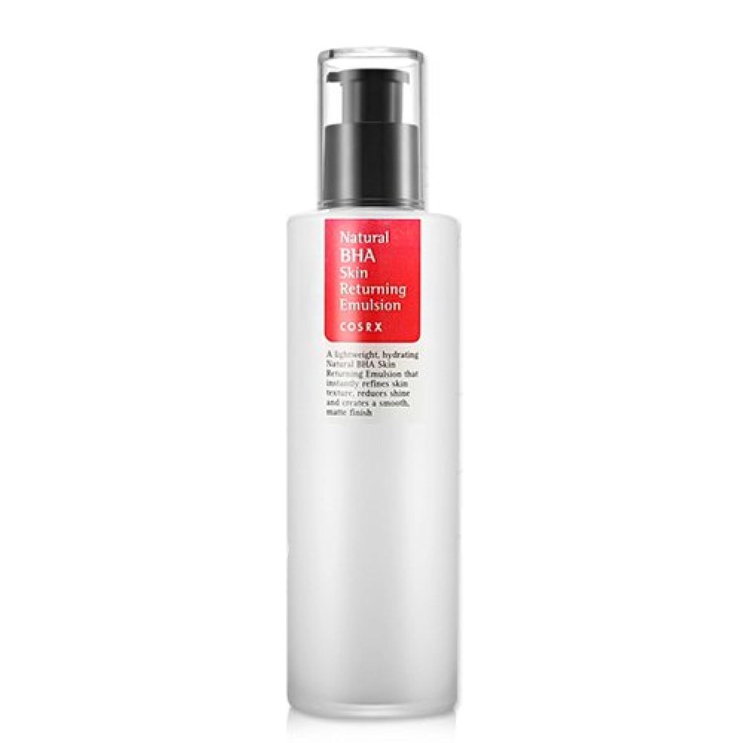 言い直す印象的開いたCOSRX Natural BHA Skin Returning Emulsion 100ml/K-Beauty/Korea Cosmetics
