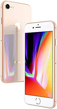 Apple iPhone 8 Gold 64GB SIM-Free Smartphone Premium Pack (Renewed)