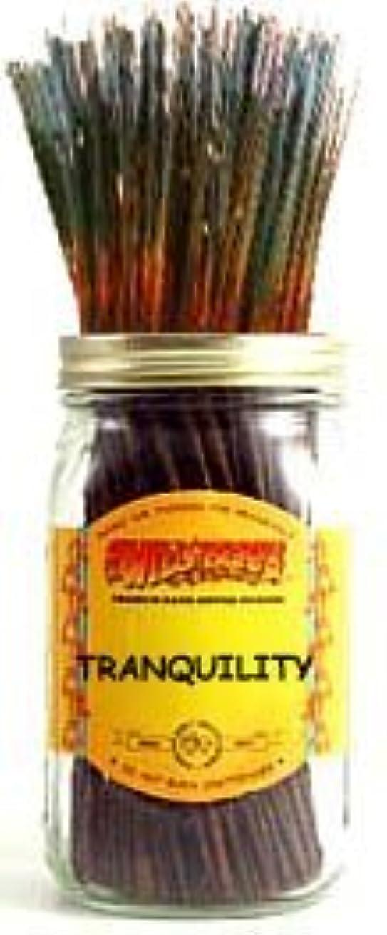 粗い不測の事態数学者Tranquility - 100 Wildberry Incense Sticks [並行輸入品]