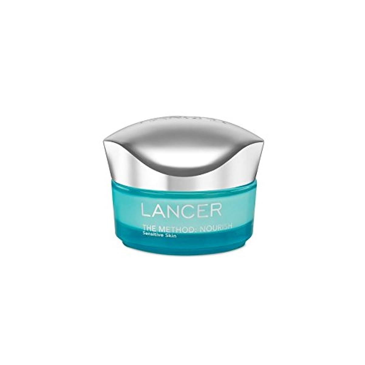 バクテリア何線形Lancer Skincare The Method: Nourish Moisturiser Sensitive Skin (50ml) - ランサーは、この方法をスキンケア:保湿敏感肌(50)に栄養を与えます [並行輸入品]