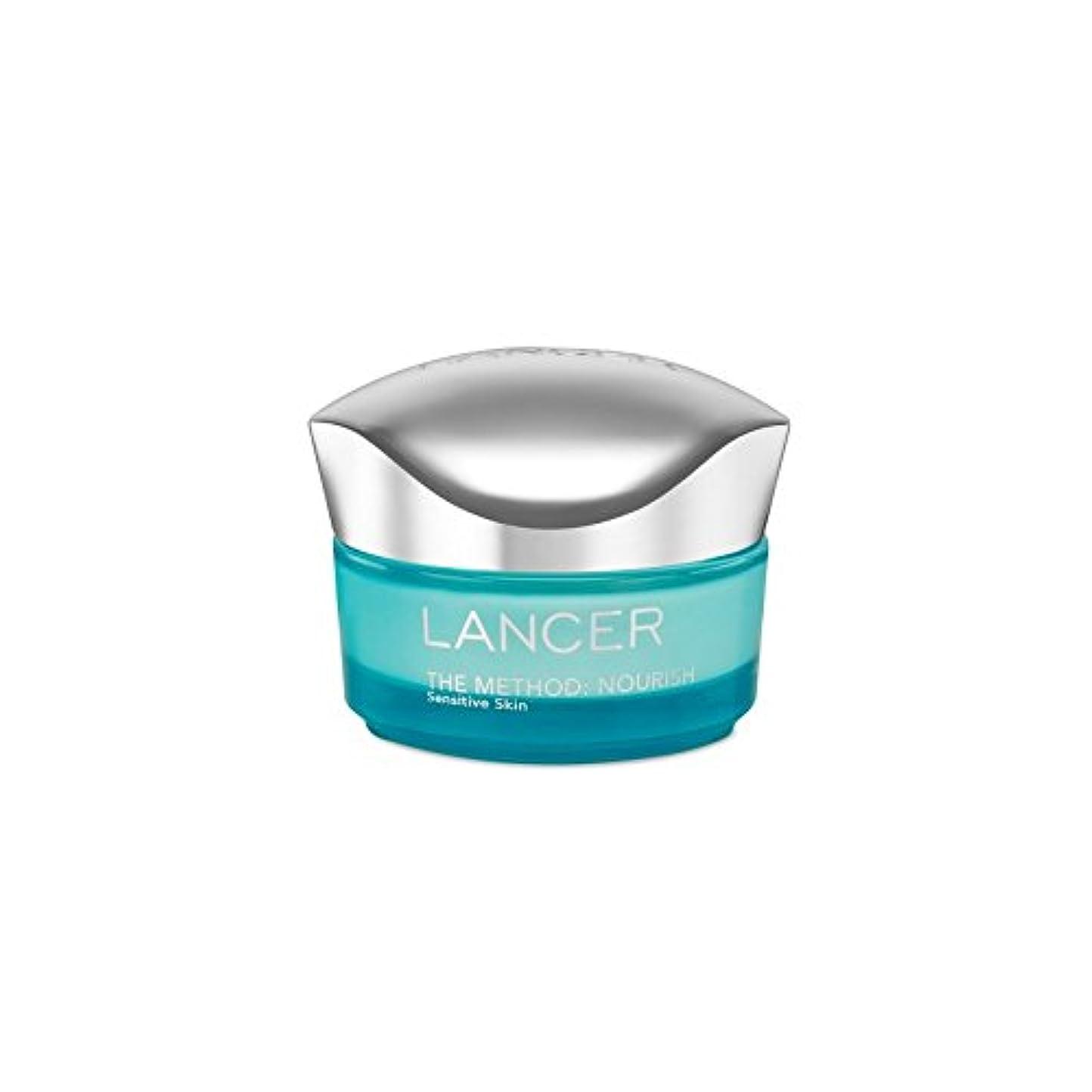 溶融避難する権利を与えるLancer Skincare The Method: Nourish Moisturiser Sensitive Skin (50ml) (Pack of 6) - ランサーは、この方法をスキンケア:保湿敏感肌(50)...