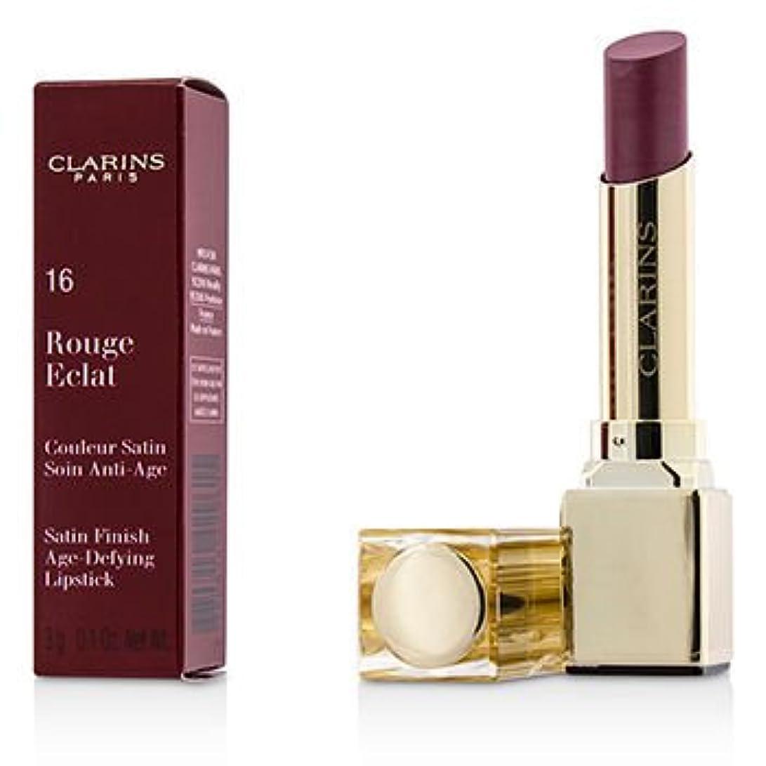 軽量挑発する細い[Clarins] Rouge Eclat Satin Finish Age Defying Lipstick - # 16 Candy Rose 3g/0.1oz