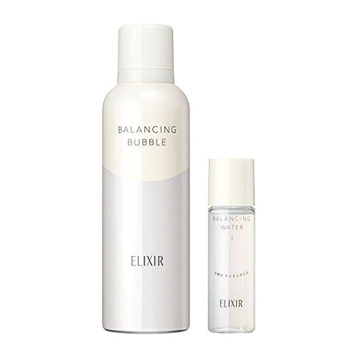 レベルキー一月エリクシール ルフレ バランシング バブル 限定セット 化粧水(さらさら)ミニサイズ付き 165g + 30mL