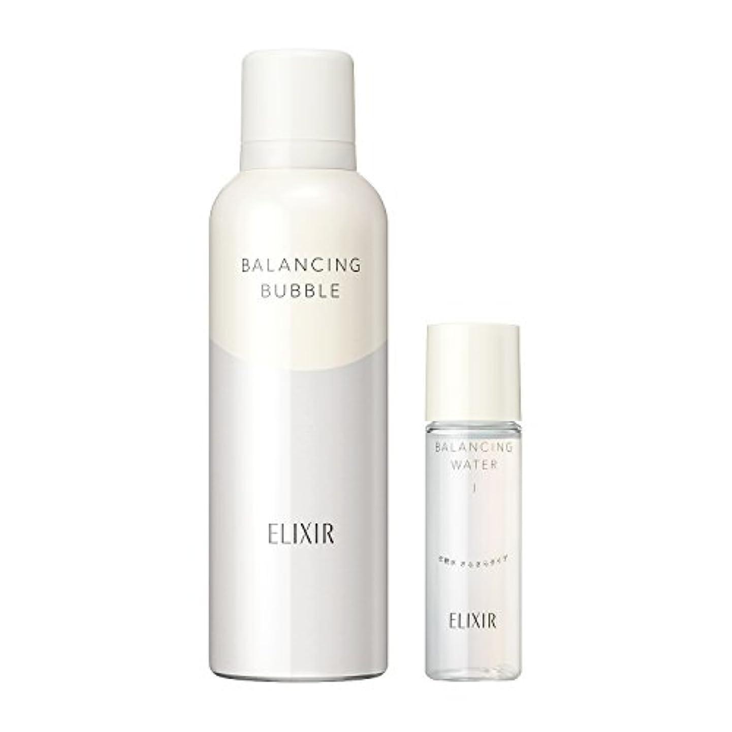 エリクシール ルフレ バランシング バブル 限定セット 化粧水(さらさら)ミニサイズ付き 165g + 30mL