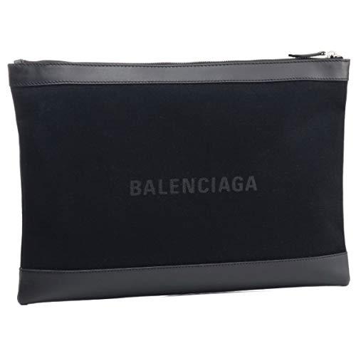 BALENCIAGA(バレンシアガ) バッグ メンズ NAVY CLIP L クラッチバッグ NERO 373840-AQ3BN-1000 [並行輸入品]