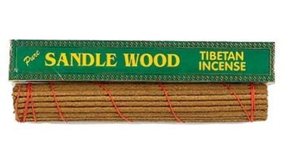 反発する珍しいバンドルチベット香純粋なサンダルウッド、8