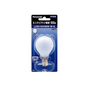 パナソニック ミニクリプトン電球 100W形 ホワイト 1個