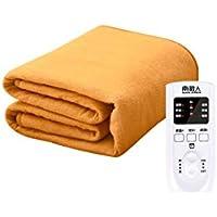 コントローラーと3つの暖房設定、タイミング機能、自動パワーオフ、マルチカラー、複数サイズの大型ダブルコントロール電気毛布 (色 : Yellow 180 * 150cm)